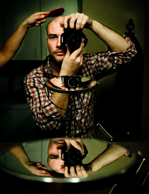 Creative concept Self Portrait Photography
