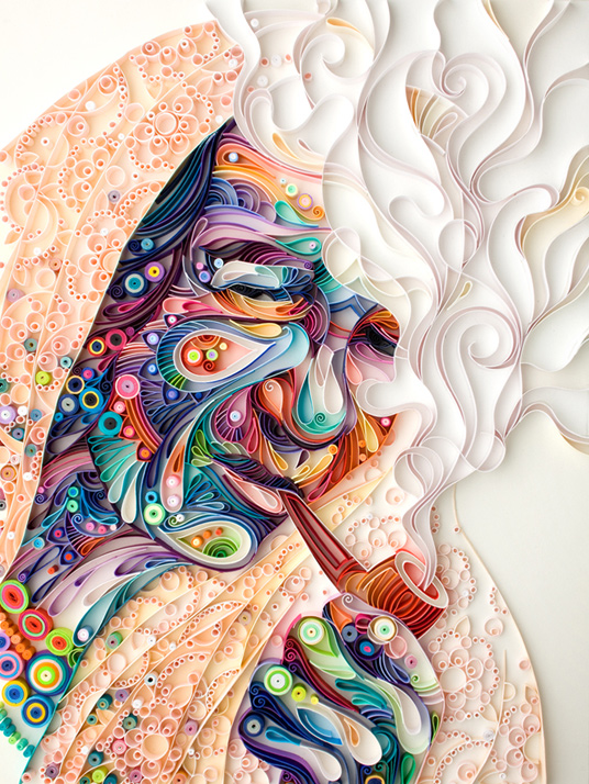 Detailed Quilling Paper Art Work by Yulia Brodskaya 02 Stunning Quilling Paper Art Work by Yulia Brodskaya