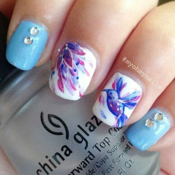 Lovely Watercolor Nail Art Ideas Pretty Watercolor Nail Art Ideas