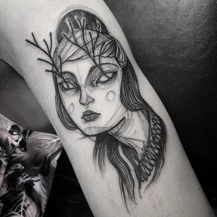 Pencil Drawings Tattoo design ideas Creative Tattoo Ideas: Tatto Look Like Pencil Drawings