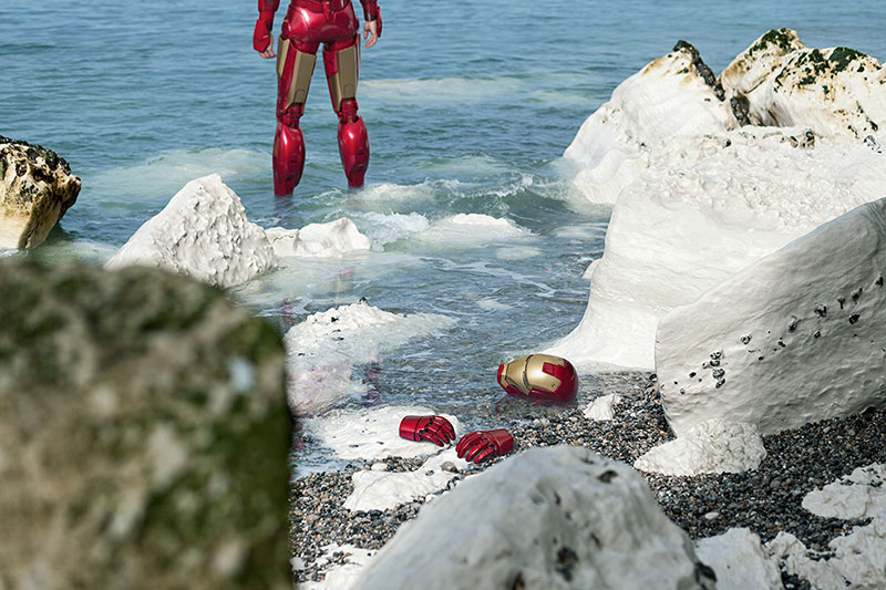 Photos of Lonely Superheroes by Benoit Lapray 08 Photos of Lonely Superheroes by Benoit Lapray