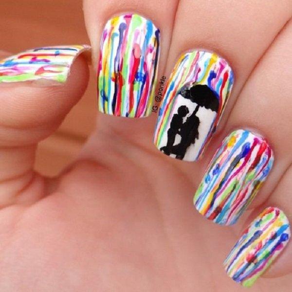 Pretty Watercolor Nail Art Ideas Pretty Watercolor Nail Art Ideas