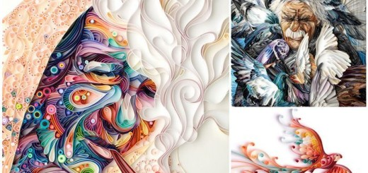 Stunning Quilling Paper Art Work by Yulia Brodskaya