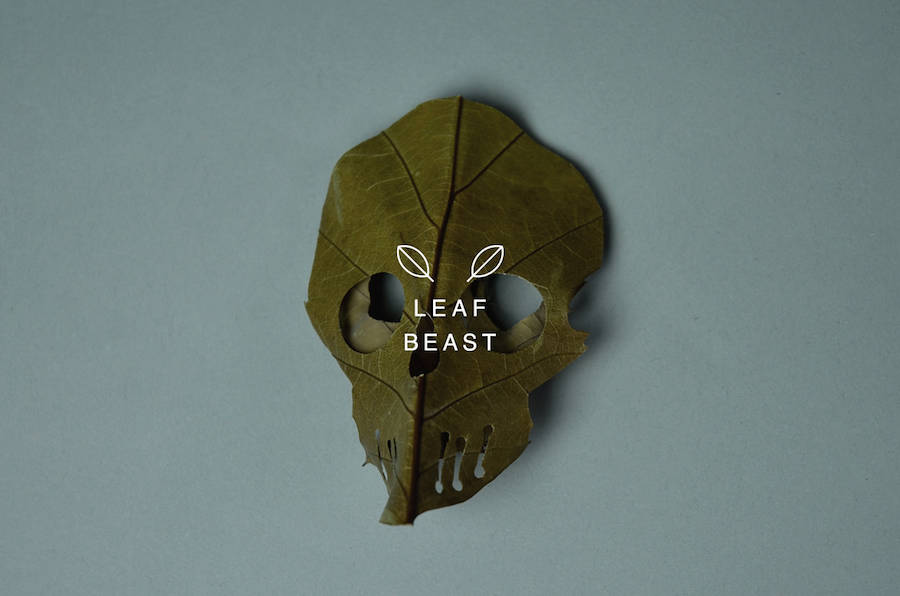 Skulls Leaf Beast Series Creative Art : Skulls Leaf Beast Series