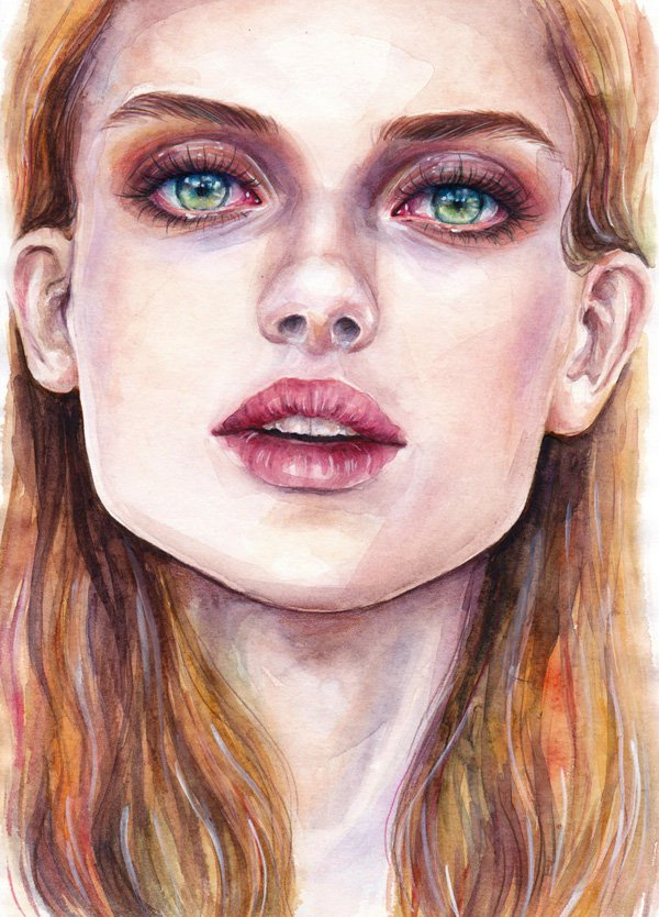 Sweet Paintings Art Ideas by Lina Watercolor Paintings Ideas by Lina