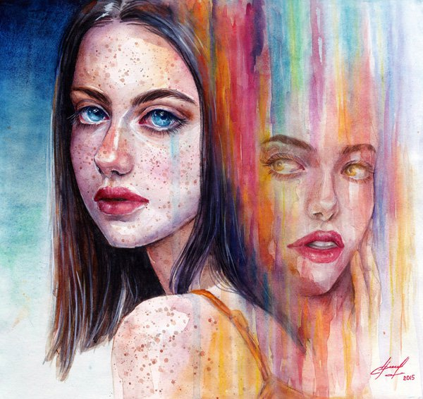 Watercolor Paintings Ideas by Lina Watercolor Paintings Ideas by Lina
