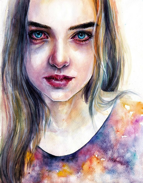 Watercolor Paintings art by Lina Watercolor Paintings Ideas by Lina