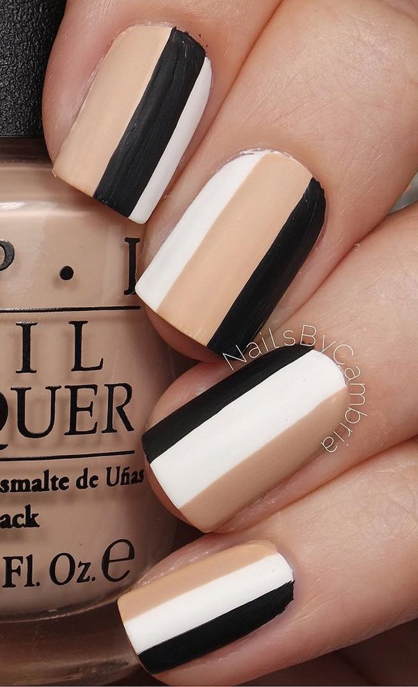 Winter nail art 5 20 Best and Beauty Nail Art Design Ideas
