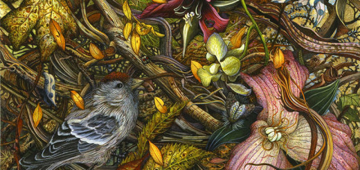 Highly Detailed Paintings of Gardens by Judy Garfin