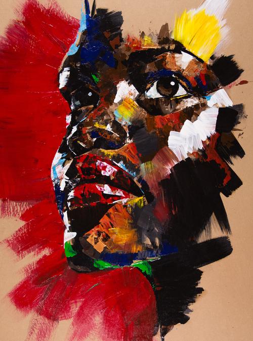 Wonderful Painting portrait by Josept Lee Creative Painting portrait Idea by Josept Lee