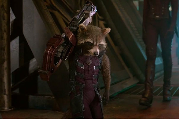 rocket raccoon costume diy mom halloween chase borchardt 5 Mom's Costume Creation Goes Viral 'Guardians of the Galaxy'