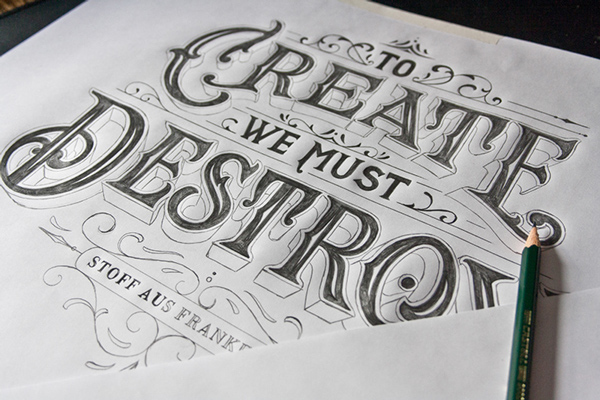 Amazing Hand Lettering Type Artworks 2015 by Tobias Saul Stunning Hand drawn Type Artworks 2015 by Tobias Saul