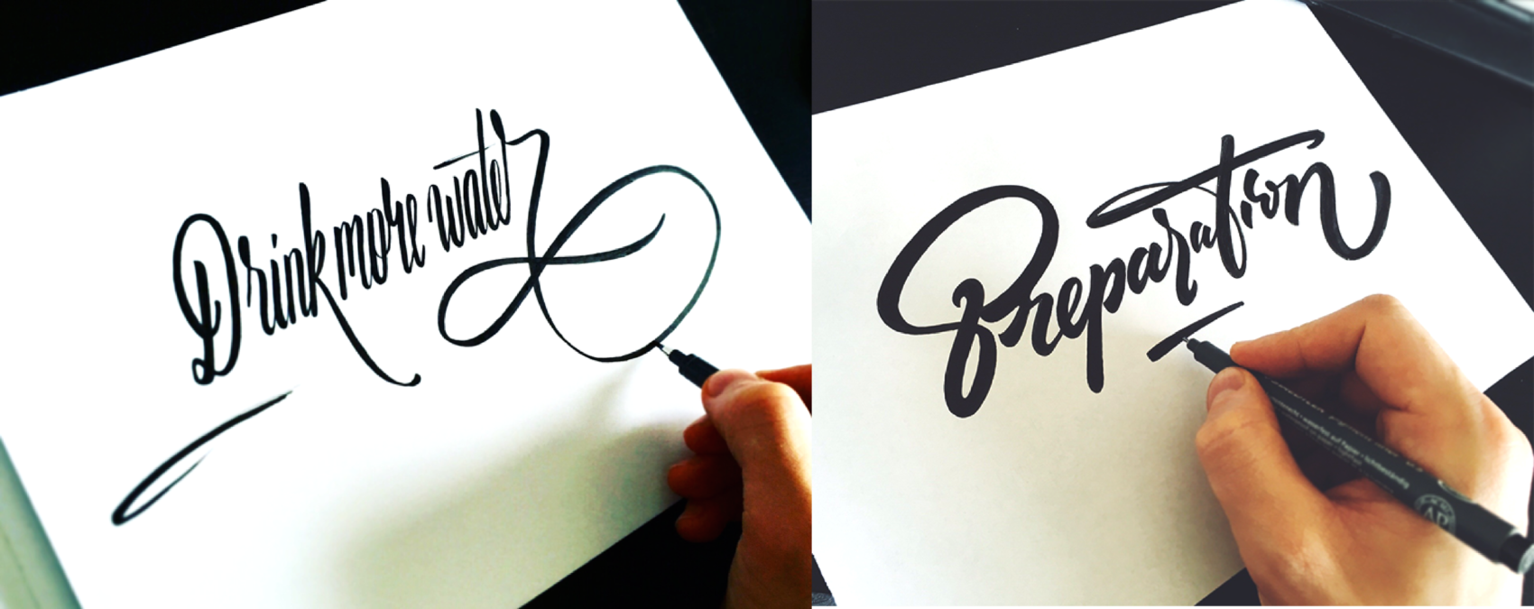 Fancy Hand Lettering Fonts Design by Tadas For Sure
