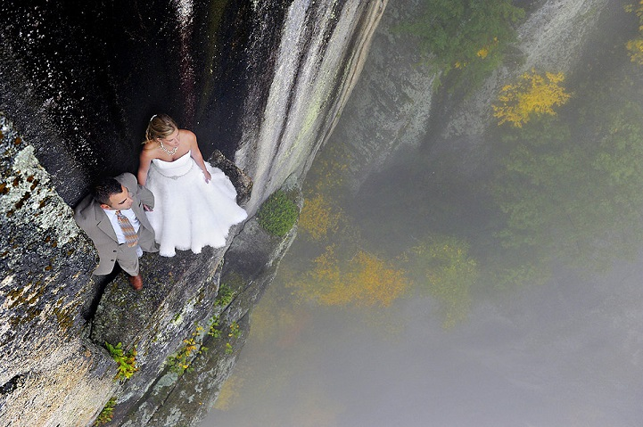 Climbing wedding Photography by Jay Philbrick Extreme and Dramatic Wedding Photography by Philbrick Photography