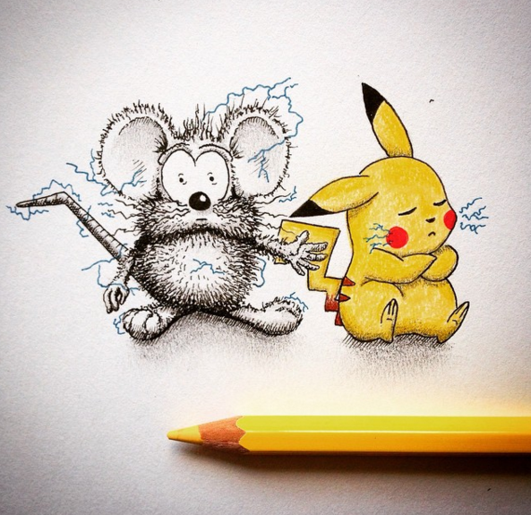 Creative Drawing Art Make from Everyday Object Creative Drawing : Make Everyday Object Into Funny Art