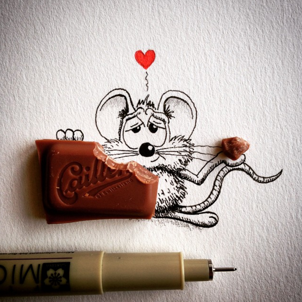 Creative Drawing Funny Art Creative Drawing : Make Everyday Object Into Funny Art