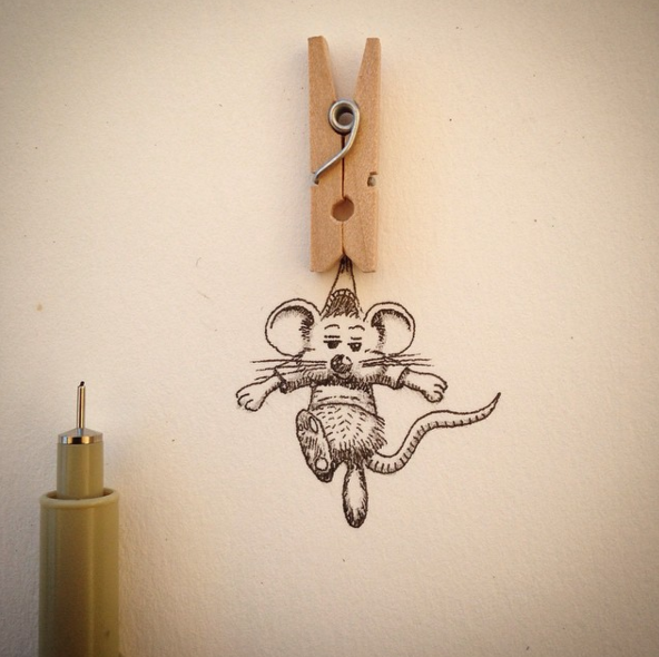 Creative Everyday Object Drawing Art