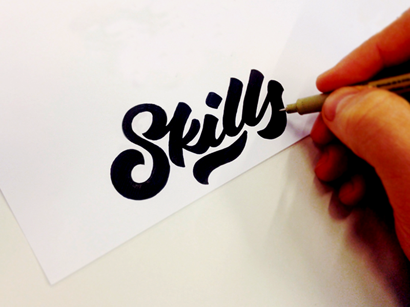 Creative Hand Lettering Fonts Fancy Hand Lettering Fonts Design by Tadas For Sure