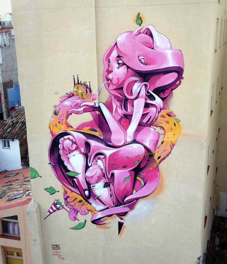 Creative Street Art and Graffiti Designs by Isaac Mahow Zupi Creative Street Art and Graffiti Designs
