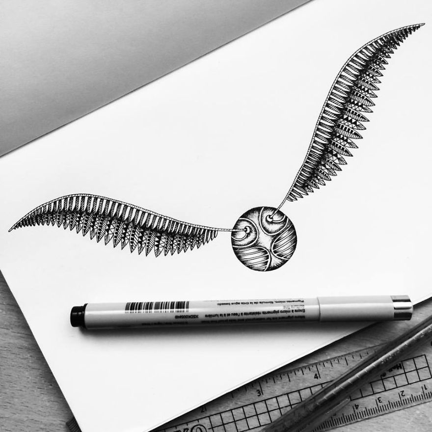 Detailed Pencil Drawing Art by Pavneet Sembhi Black and White Detailed Drawing Art by Pavneet Sembhi