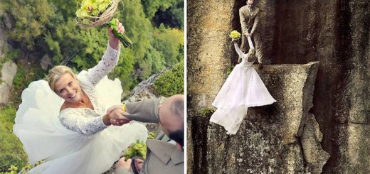 Extreme and Dramatic Wedding Photography by Philbrick Photography