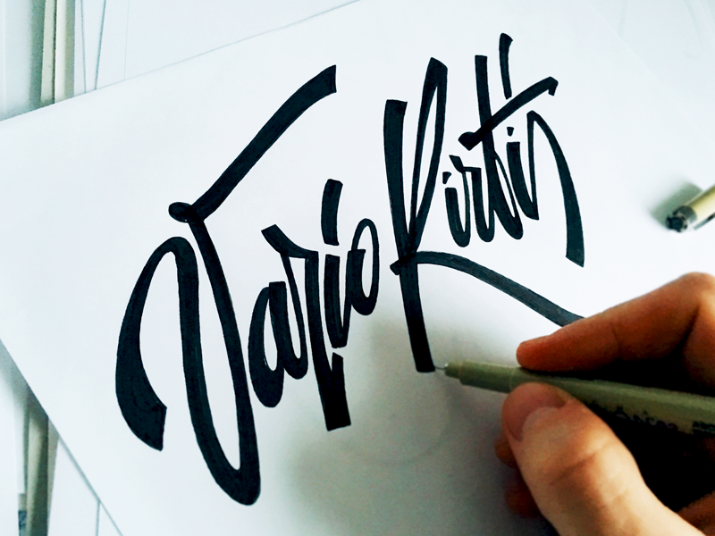 Fancy Hand Lettering Fonts ideas Fancy Hand Lettering Fonts Design by Tadas For Sure