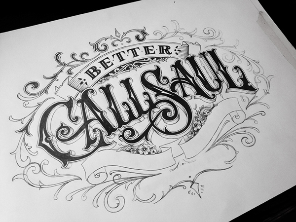 Hand Lettering Type 2015 by Tobias Saul Stunning Hand drawn Type Artworks 2015 by Tobias Saul