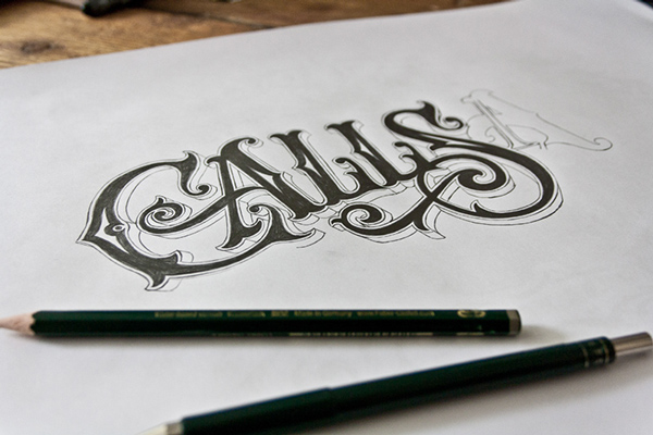 Hand Lettering Type Artworks 2015 by Tobias Saul Stunning Hand drawn Type Artworks 2015 by Tobias Saul