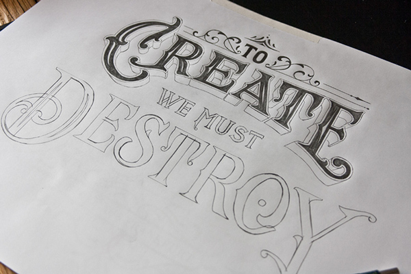 Stunning Hand Lettering Type Artworks 2015 by Tobias Saul Stunning Hand drawn Type Artworks 2015 by Tobias Saul