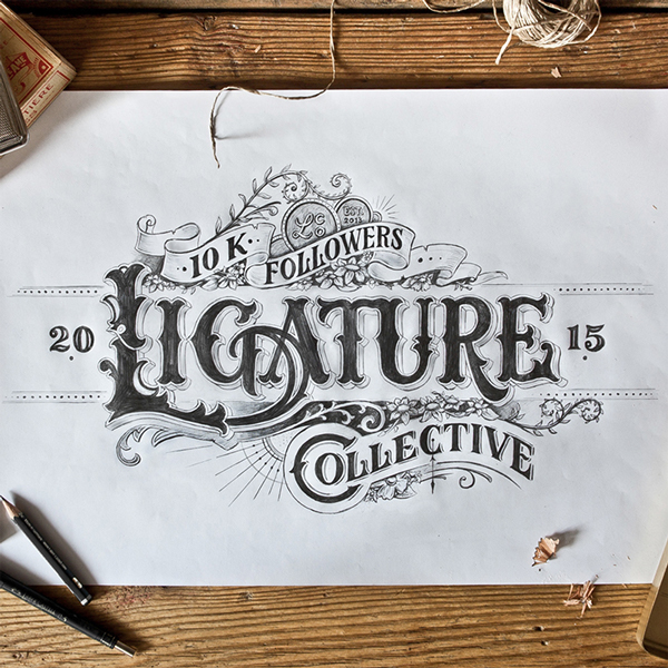 Stunning Hand drawing Type Artworks 2015 by Tobias Saul Stunning Hand drawn Type Artworks 2015 by Tobias Saul