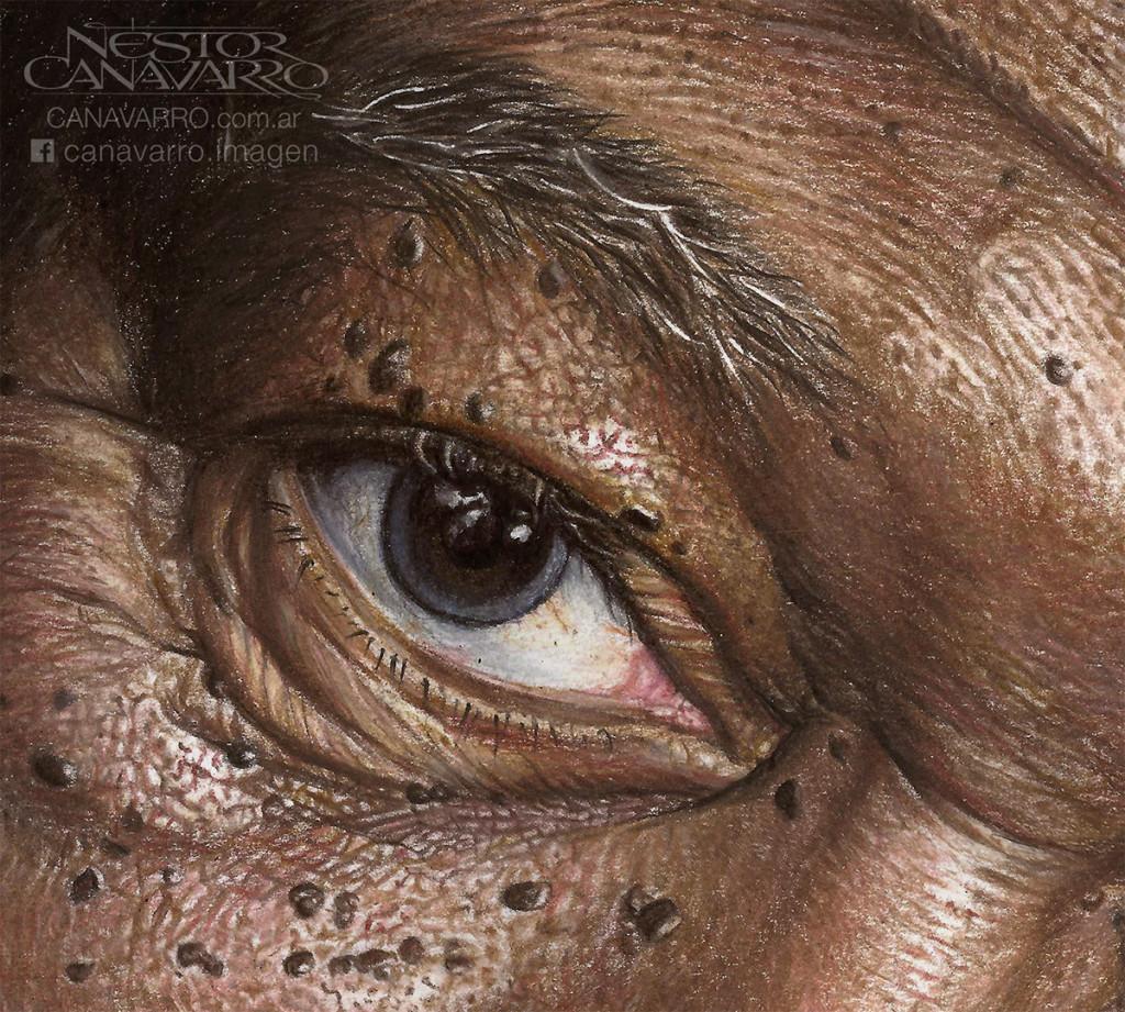 Super Detailed Drawing Of Morgan Freeman In Color Pencils 01 1024x921 Super Detailed Drawing Of Morgan Freeman In Color Pencils