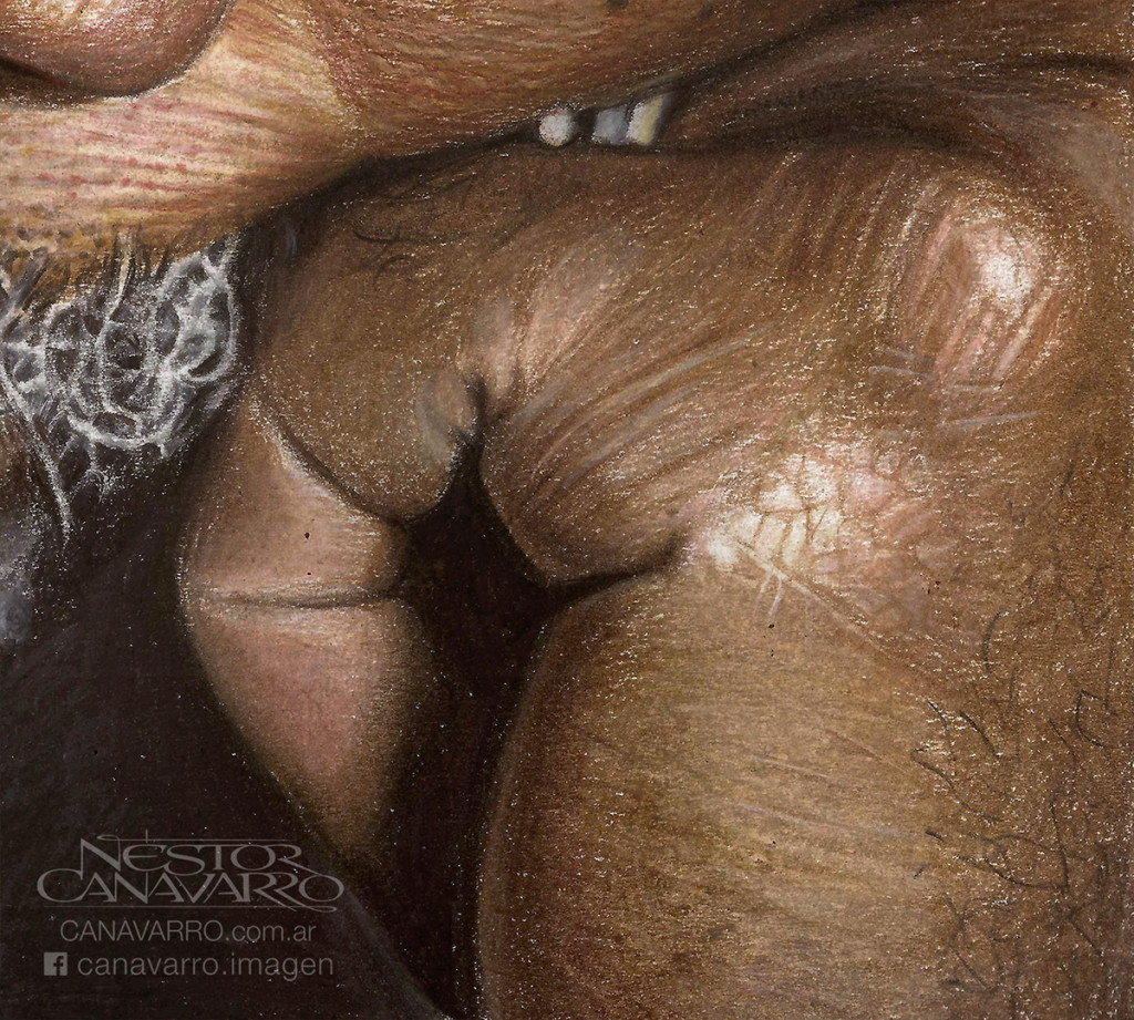 Super Detailed Pencil Drawing 1024x921 Super Detailed Drawing Of Morgan Freeman In Color Pencils