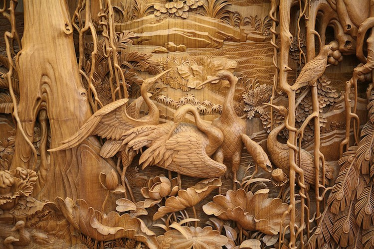 Traditional Chinese art Wood Carving DongYang Wood Carving The Fading Art of Traditional Chinese