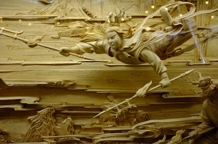 Dongyang wood carving the fading art of traditional for Wood in chinese