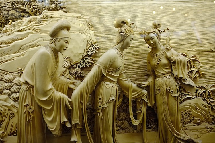 Unique Wood Carving DongYang DongYang Wood Carving The Fading Art of Traditional Chinese