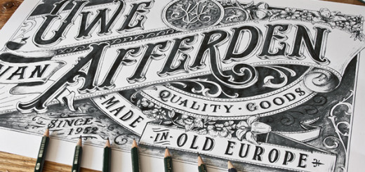 Stunning Hand drawn Type Artworks 2015 by Tobias Saul