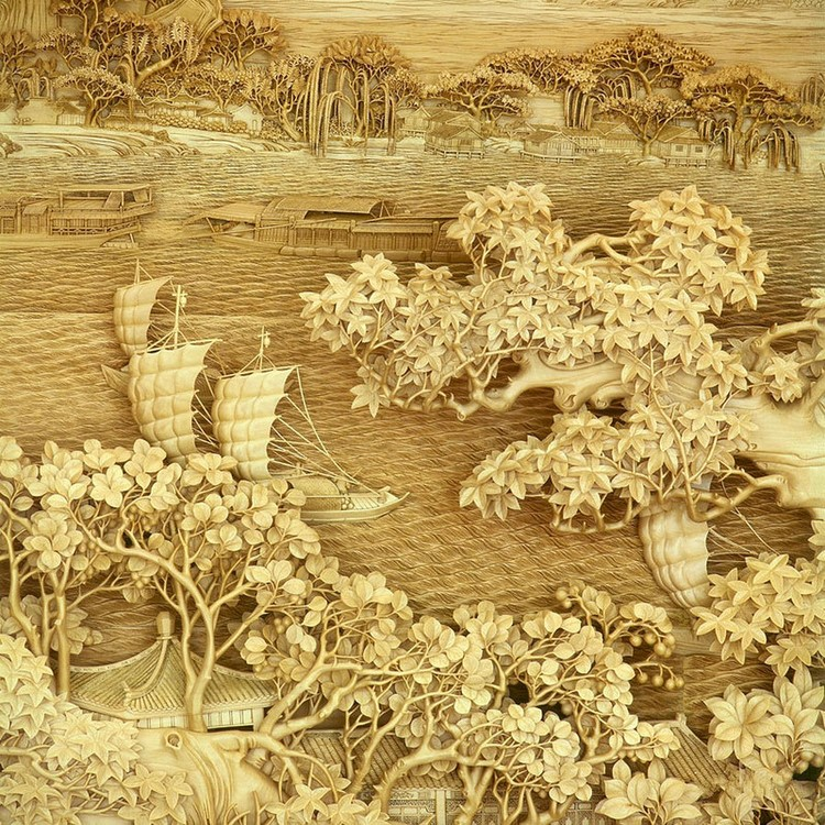 Wood Carving Traditional Chinese by DongYang DongYang Wood Carving The Fading Art of Traditional Chinese