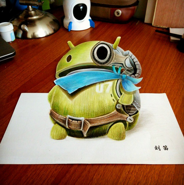 3D Drawing art 02