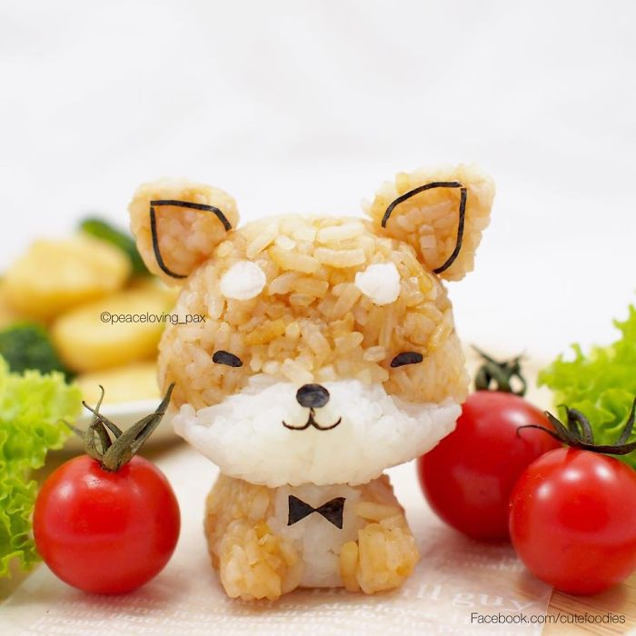 Adorable Shiba inu dog Rice Balls I Make Adorable Rice Balls During My Free Time