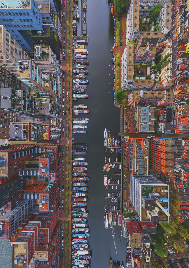 Aerial Photography Of Amsterdam Netherlands 724x1024 Russian Photographers Show How Birds See Our World And It'll Leave You Breathless