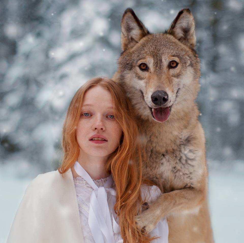 Amaizng Fine Art Portraits Photography With Real Animals 12 Fine Art Portraits Photography With Real Animals by Katerina Plotnikova