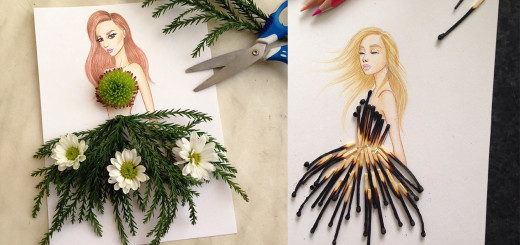 Creative Fashion Designs With Everyday Objects by Armenian Artist Edgar