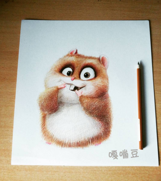 Cute Character Drawing Artworks by Chinese Artist oliudio