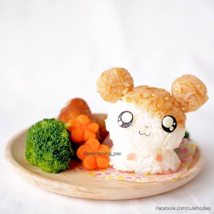 Hamtaro Adorable Rice Balls I Make Adorable Rice Balls During My Free Time