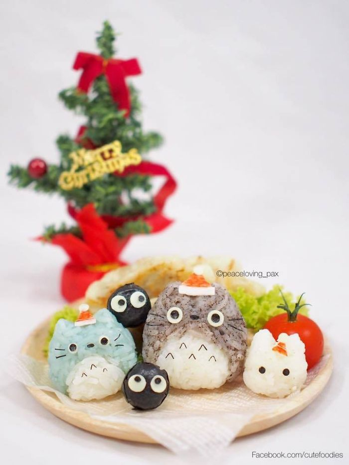 Toroto Cute Rice Balls I Make Adorable Rice Balls During My Free Time