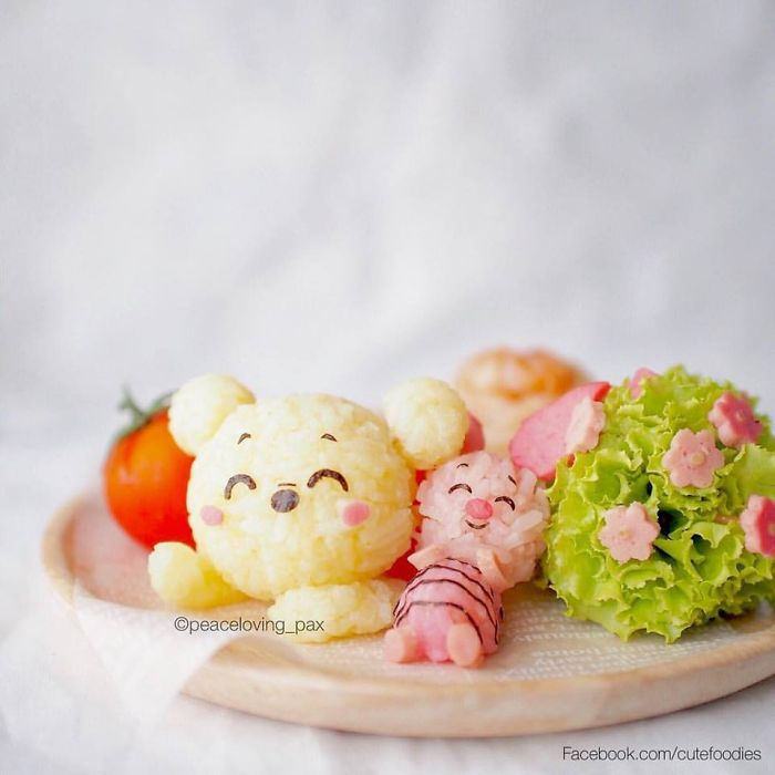 Winnie The Pooh Rice Balls I Make Adorable Rice Balls During My Free Time