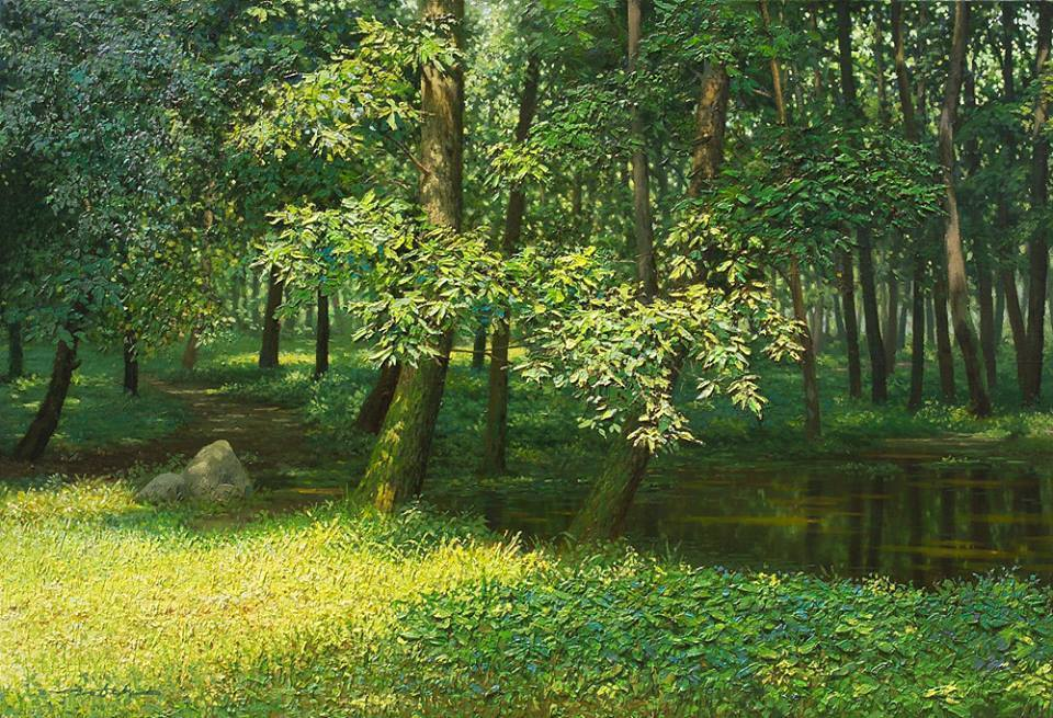 Amazing Nature Painting by Jung Hwan 66 Incredible Nature Painting by Jung Hwan