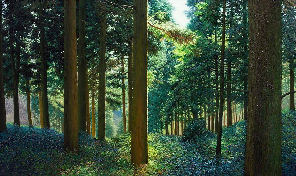 Beautiful Art of Nature Painting by Jung Hwan Incredible Nature Painting by Jung Hwan