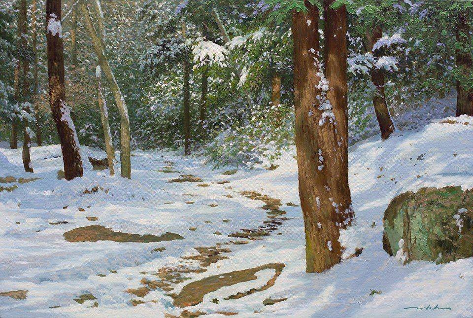 Detailed Nature Paintings by Jung Hwan 77 Incredible Nature Painting by Jung Hwan