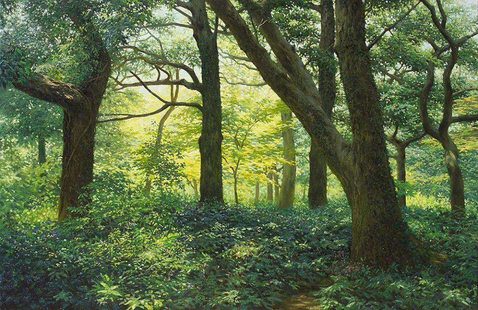 Detailed Nature Watercolor Painting by Jung Hwan 66 Incredible Nature Painting by Jung Hwan